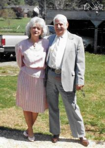 Jo Ann and her father, John Rawlston