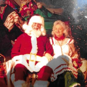 Santa (Larry) and Mrs. Clause (Jo Ann)