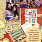 Teen Sunday School @ Middle Cross Baptist Church | Chattanooga | Tennessee | United States